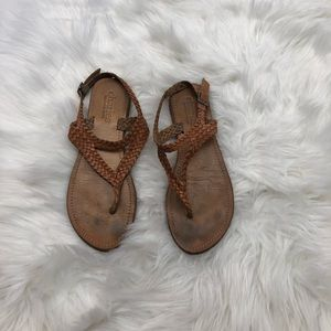 Charlie by Charles David Braided Sandals Size 8